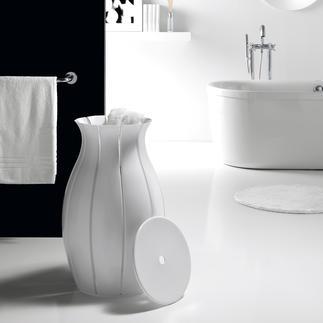 "Laundry Basket ""Amphora"" A stylish addition to your bathroom: The laundry basket shaped like an amphora."