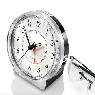 'Bell' Alarm Clock The good old alarm clock with a bell chime – now even better.