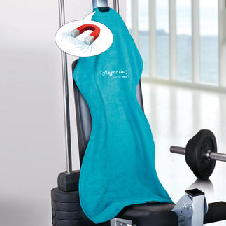 Magnatic® Sports Towel, Set of 2 Won't slip off your neck. Nor from gym equipment.