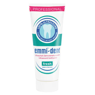 Ultrasound Toothpaste, 75ml (2.53 oz) Toothpaste for ultrasound toothbrushes. No abrasive substances to damage teeth and gums.