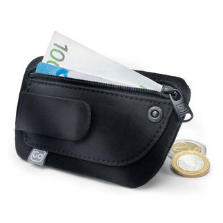 """Clip Pouch"" Mini Purse Money, credit card, identity card, … carry everything with you even in lightweight summer clothes."