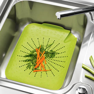 BRIX Kitchen Sink Sieve Everything in the sink and back out again – just like that!