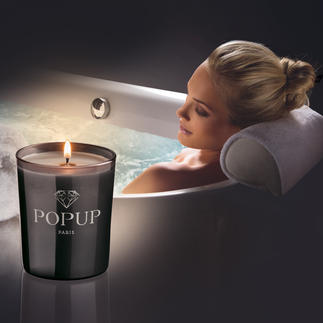Popup Diamond Scented Candle Luxury candles with fragrances from Grasse – and perhaps with a genuine diamond.