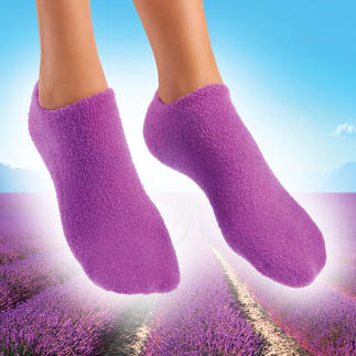 Socks or Gloves with nourishing gel Super soft hands and feet. Nourishing jojoba. Refreshing lavender.