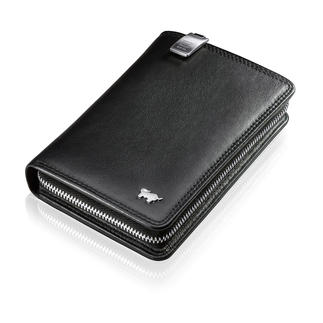 Braun Büffel Mobile Phone Wallet Wallet and mobile phone case in one.