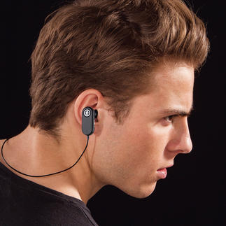 TAGS Bluetooth Earbuds Perfect fit and brilliant sound. Without annoying wires.
