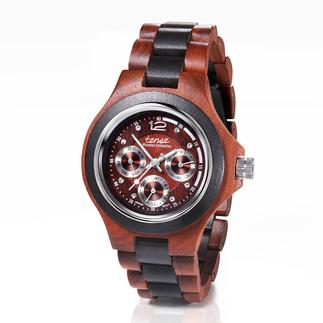 TENSE™ Wooden Wristwatch Elegant sandalwood instead of plastic or cold metal. Handmade.