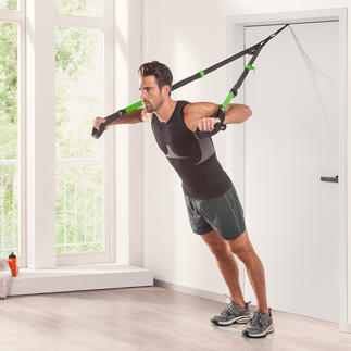 Schildkröt® Fitness Slingtrainer The ideal full-body workout: Using your own body weight as training resistance.