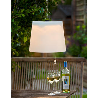Solar Table or Hanging Lamp Solar lamps for your terrace. No wires. No electricity costs.