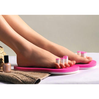 PediQuick® No more smudged nail polish or cold feet. Just unlimited freedom of movement.
