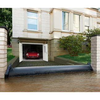 Flood Defence Tube Rapid assistance in heavy rain, high water and flooding.