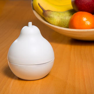 Fruit fly trap, 3-piece set Effective and environmentally friendly trap in decorative pear shape.