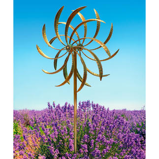 """Duet"" Wind Spinner Two spinners rotating in opposite directions - an enchanting eye-catcher."