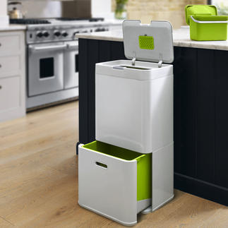 Intelligent Waste Tower Bin An innovative system that combines all your waste and recycling requirements in one neat unit.