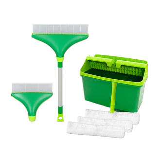 Deluxe Window Squeegee Set Clean your windows without streaks & additional polishing. Perfect on arched windows & curved shower screens.