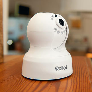 Rollei Outdoor or Indoor Safety Cam View your home from anywhere in the world, on your smartphone, tablet or PC.