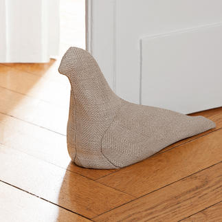 Linen Dove Artistic textile sculpture. Use as a doorstop, or for therapy.
