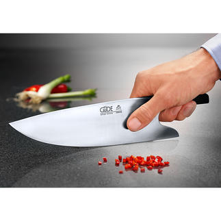 "Güde Chef's Knife ""THE KNIFE"" Cut like a pro – ideal grip, ideal guiding, ideal safety."