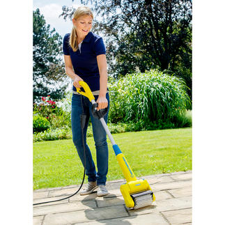 MultiBrush 2-in-1 Cleaning Device Removes weeds and moss from surfaces and grooves.  Quick, easy and thorough.