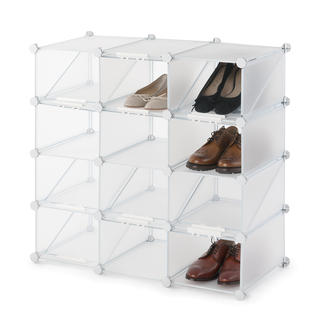 Shoe organiser cubes Organised, space-saving and flexible shoe cabinet. Easy to assemble.