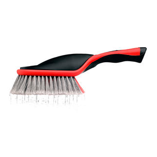 Activebrush™ Telescopic or Hand Brush Clean as if you are using running water, but without a hose.