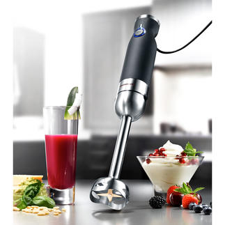 Gastroback Professional Hand-held Blender Advanced Pro Powerful 800W. Particularly solid build. Goes up to 15,000rpm – for any application.