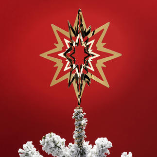 Tree top star Georg Jensen The crowning glory to your Christmas tree. Two versions – to suit all Christmas tree decorations.
