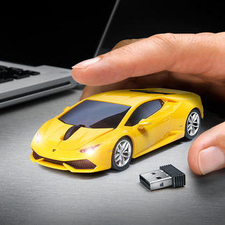 Wireless Car Mouse Makes working at your PC a lot more fun. Officially licensed.