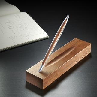 "Pininfarina Ethergraf® Pencil The ""pencil"" for life. It never needs to be sharpened and won't wear down."