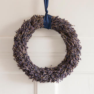 Lavender Wreath or Lavender Bouquet Hand-tied table and door decorations made from genuine lavender 