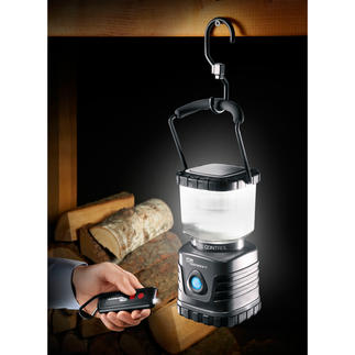 Dimmable 620 lumen lantern Super bright. Very economical. Really hardwearing. Remote control with integrated torch.