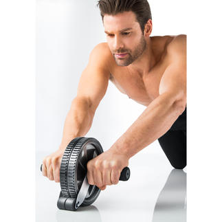 Abdominal Roller with stopper New and improved remake of the classic AB Roller. Simple but effective training for everyone.