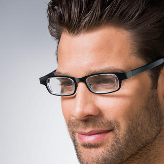 Eyejusters Always have the right glasses. With a turn you adjust the lens strength to suit your needs.