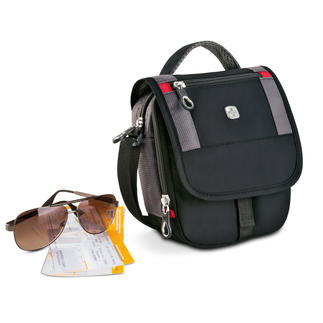 Wenger Mini Boarding Bag Travel in style with everything you need to hand.