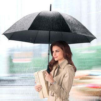 FARE-iAuto® Umbrella The first pocket umbrella to open and close electronically. Also available as a walking-cane umbrella.