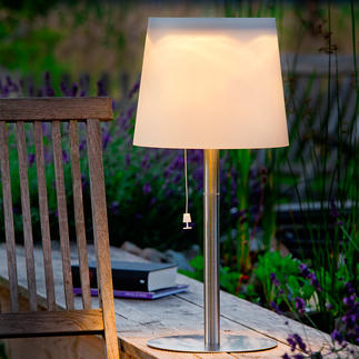 Solar Lights For your terrace. No wires. No electricity costs. Now also available as a wall lamp. With twilight sensor.