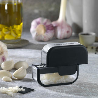 Microplane® Garlic Cutter Safe, comfortable and fast – and your hands won't smell of garlic.