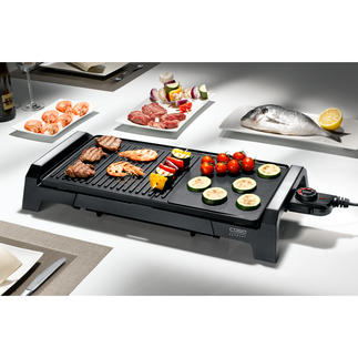 Caso Table-Top Grill BQ 2200 Everything you'd expect from a perfect table-top grill. At a very good price.