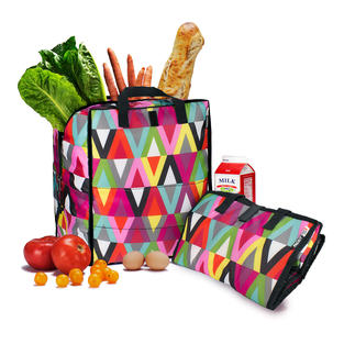 Cool-Bag PACKiT® Finally a cool-bag that looks good. Stays cool for up to 5 times longer than usual cool-bags.