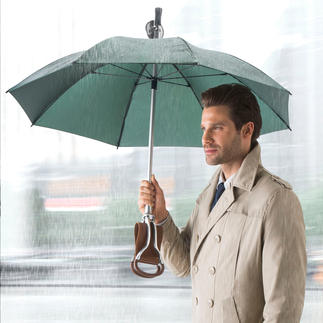 Umbrella Seat Stick Three functions in one: Umbrella and elegant walking stick – plus a comfortable seat.