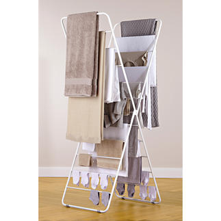 X-dryer® Clothes Airer The design is tall to save space instead of being wide and bulky.