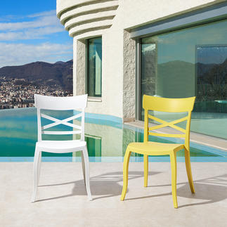 Design Chair For Indoors And Outdoors Stylish, comfortable and weatherproof – the perfect chair for indoors and outdoors.
