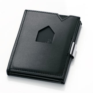 Exentri® Smart Wallet Instant access to your most used cards. Fits comfortably in the pocket of your trousers or jacket.