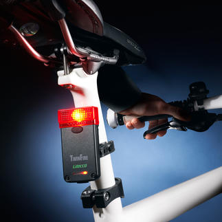 Bicycle Rear Light With Brake Light Extra safety for cyclists. Approved for road use.