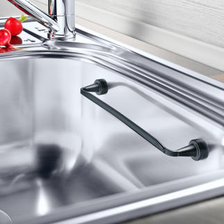 Magnetic Cloth Rail Suitable for all sinks and attaches magnetically, even across a corner.