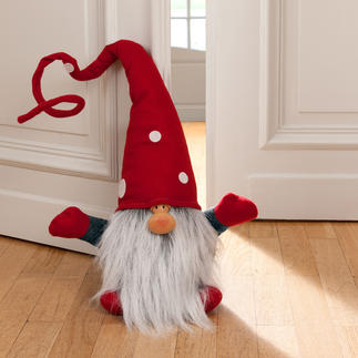 Christmas Gnome Julenisse In hallways, on staircases, in living or dining rooms, ... but also as a doorstop.