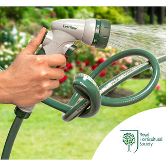 Everflow® Garden Hose No more water build-up with this clever garden hose. Recommended by the Royal Horticultural Society.