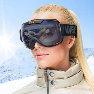 Uvex Variomatic® Polavision® Ski Goggles Automatic lens tinting plus effective anti-glare finish.