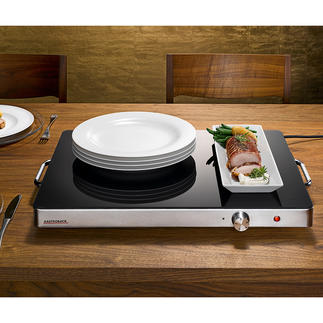 Gastroback Professional XXL Hot Plate Serve in style with this elegant gastronomy sized hotplate.
