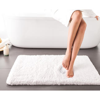 Wonderfully Soft Bath Mat Luxuriously soft bath mat with memory foam insert. Breathable and antimicrobial.